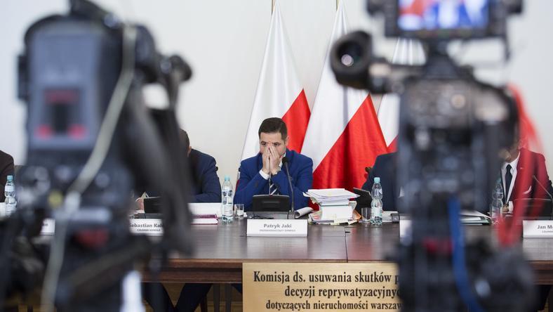 Patryk Jaki - przewodniczący komisji