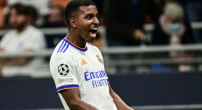 Rodrygo gave Real Madrid the win with his late strike Creator: MIGUEL MEDINA