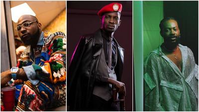 Nigerian celebrities supporting Ugandan politician Bobi Wine