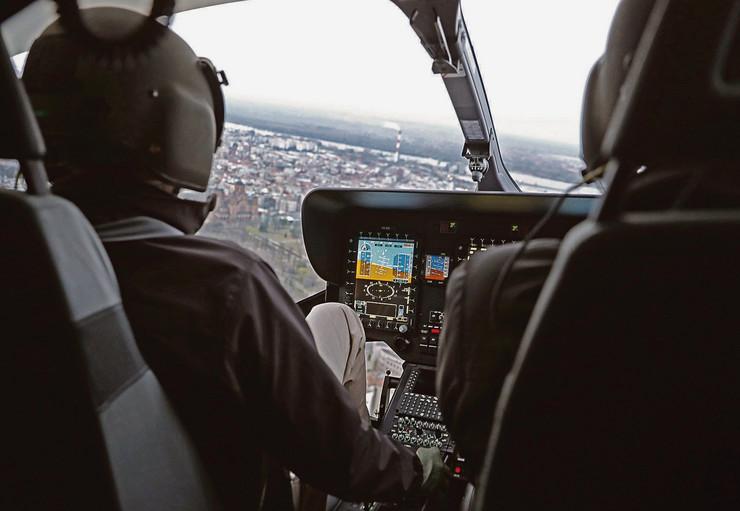 Policijski čas, pogled iz helikoptera