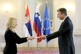 Zorana Vlatković, Borut Pahor, Slovenija