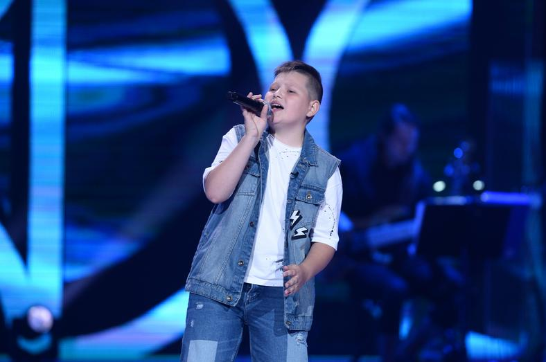 "Krystian Gizicki w ""The Voice Kids 3"""