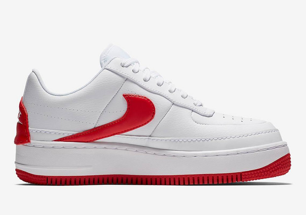 Nike Air Force 1 Jester in Red White