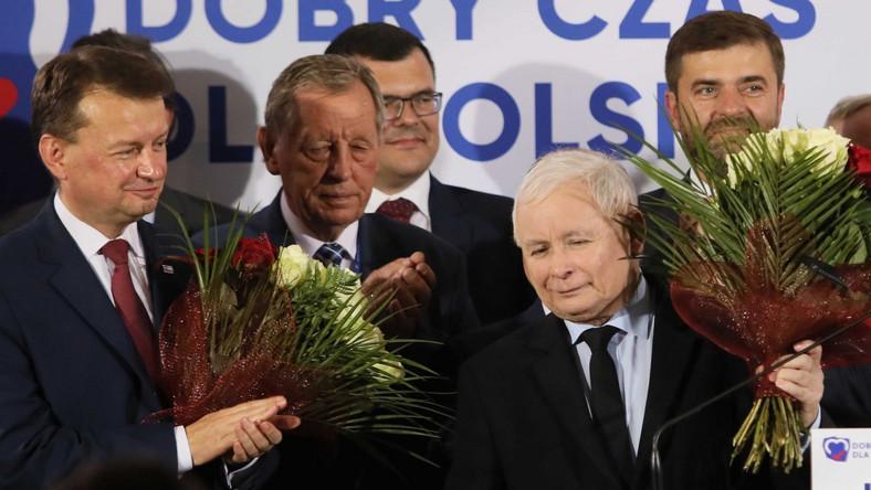 Prezes i politycy PiS na konwencji w Legionowie