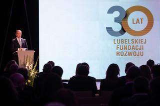 Lubelska Fundacja Rozwoju ma 30 lat. Prof. Kidyba: Jej główny cel to wspieranie małej i średniej przedsiębiorczości