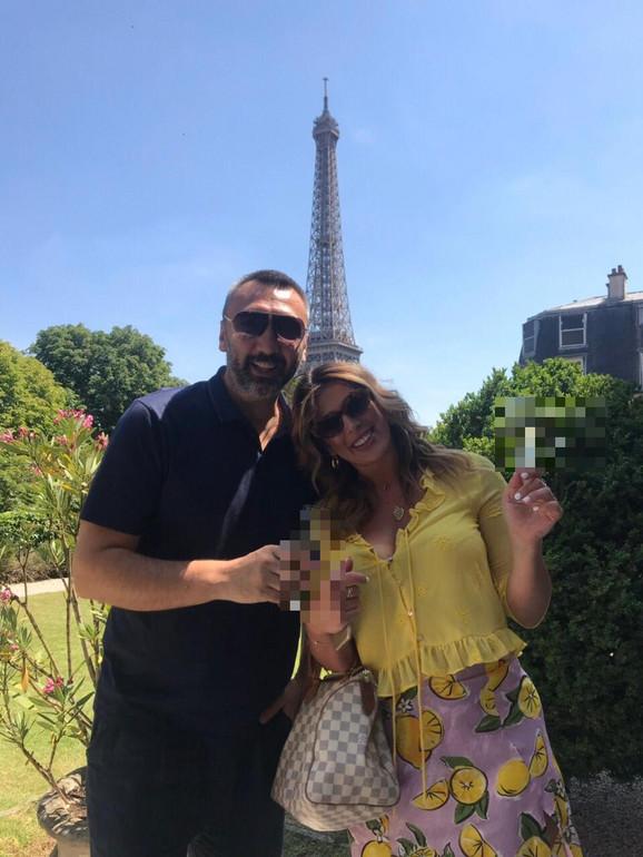 Mladen Baron i Ena Popov u Parizu