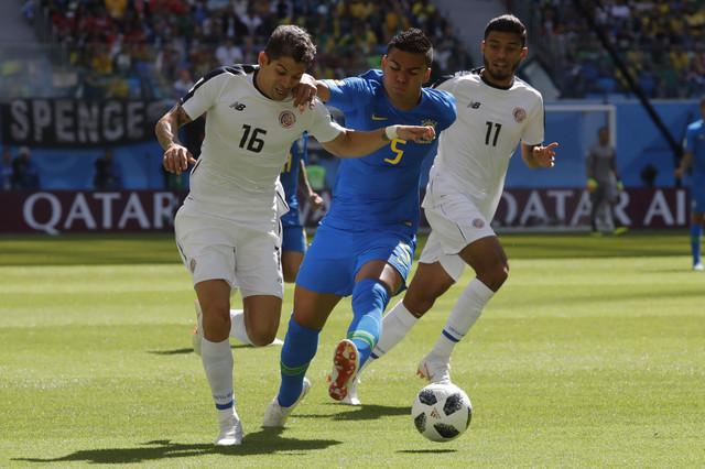 Detalj sa meča Brazil - Kostarika