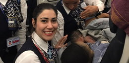 Urodziła w samolocie. Zobacz zdjęcia maluszka