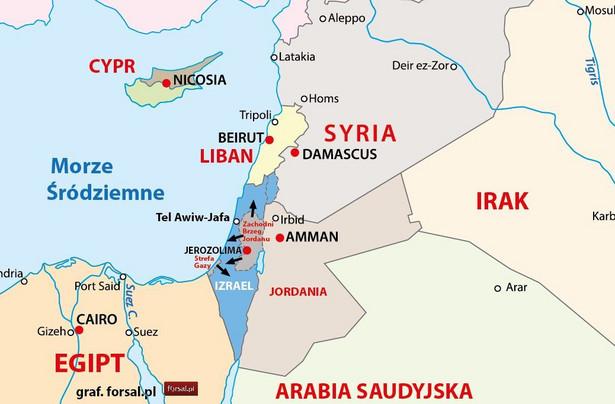 Punkt zapalny: Strefa Gazy i Zachodni Brzeg Jordanu