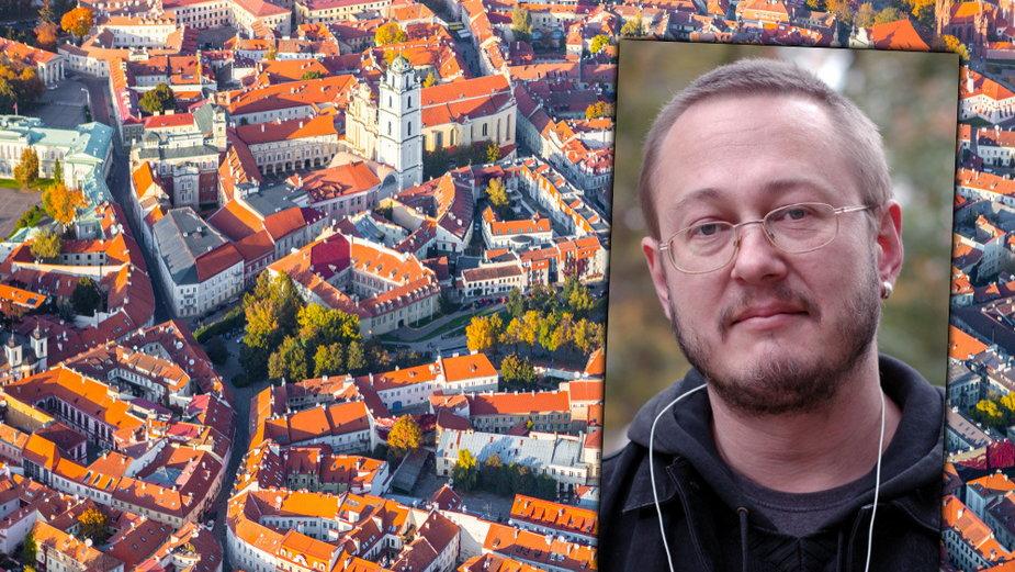 Wilno (fot. proslgn / shutterstock) / Gintaras Grajauskas (materiały ze strony šaltiniai.info)