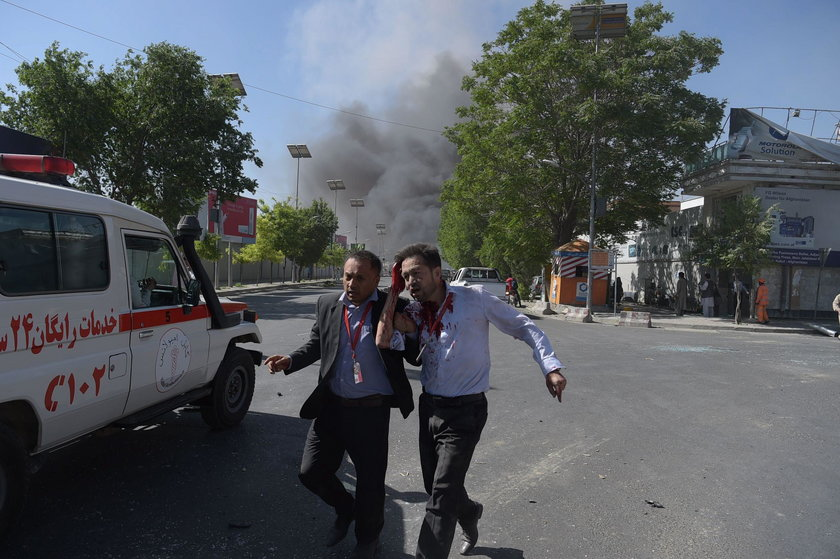 Afganistan. Zamach w Kabulu w dzielnicy rządowej