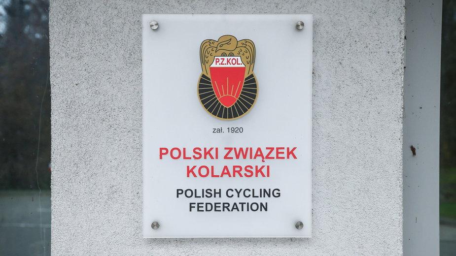Siedziba Polskiego Związku Kolarskiego