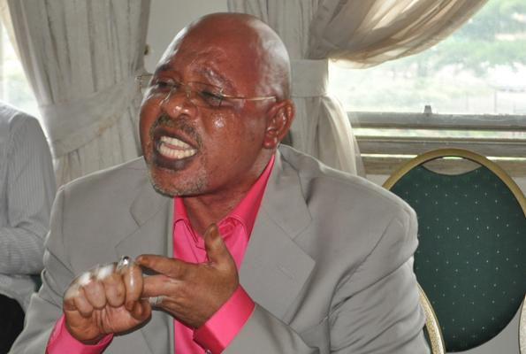Uganda's Internal Affairs Minister, Gen Jeje Odong