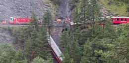 Wykolejony pociąg! To cud, że nikt nie zginął!