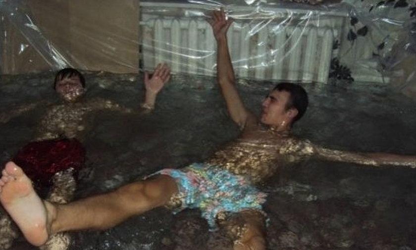 basen w mieszkaniu