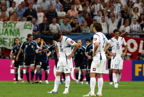 Detalj sa utakmice Argetina - Srbija