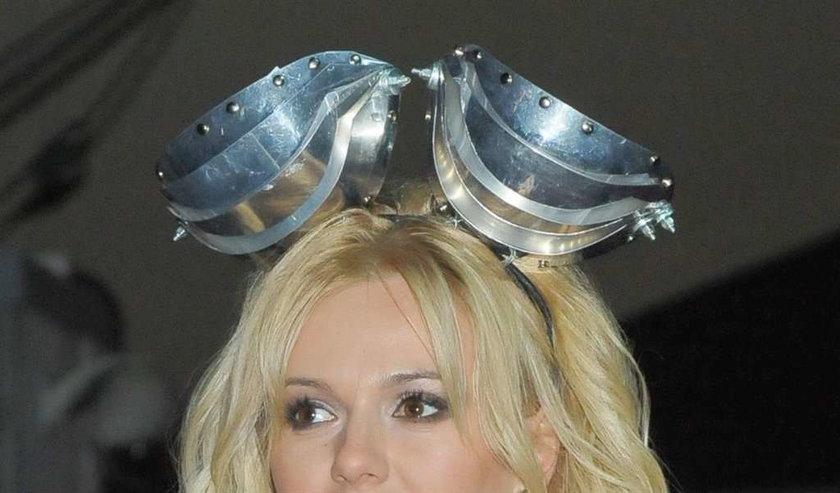 Doda metalowy kapelusz