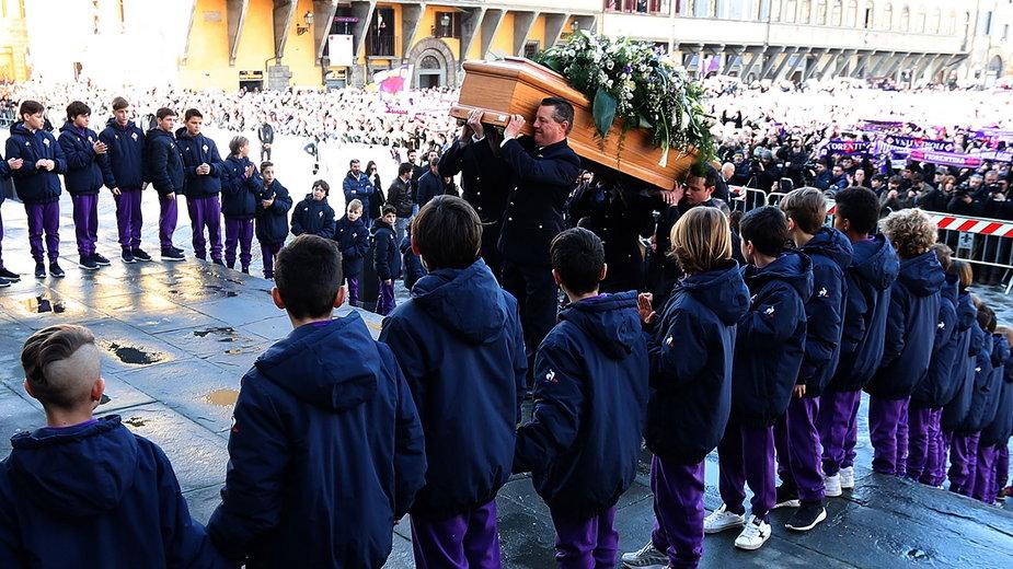 Pogrzeb Davide Astoriego