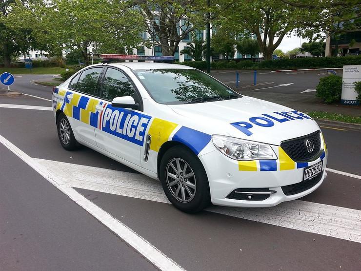 novi zeland policija