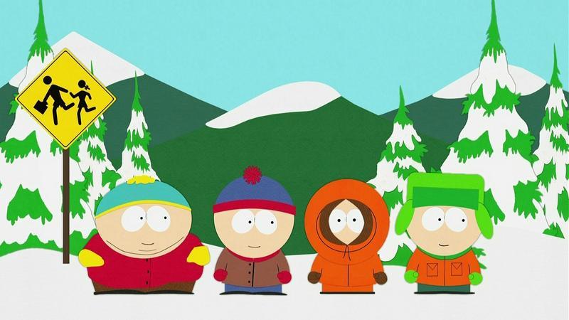 """Miasteczko South Park"" - kadr z serialu"