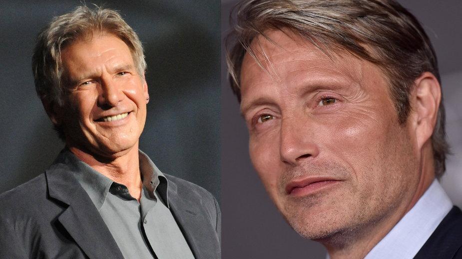 """Mads Mikkelsen zagra z Harrisonem Fordem w 5. części """"Indiany Jonesa"""""""