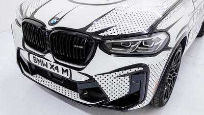 BMW X4 M Competition dołącza do elitarnego grona art carów. Pomalował je Joshua Vides