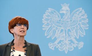 Rafalska: Będą zmiany w FUS, KRUS i systemie emerytalnym służb mundurowych