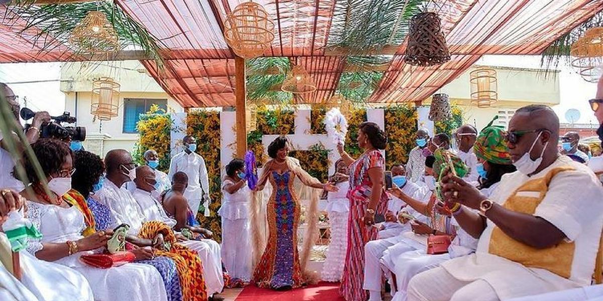 GRA chases Korankye Ankrah's daughter to pay tax on $1M wedding gift