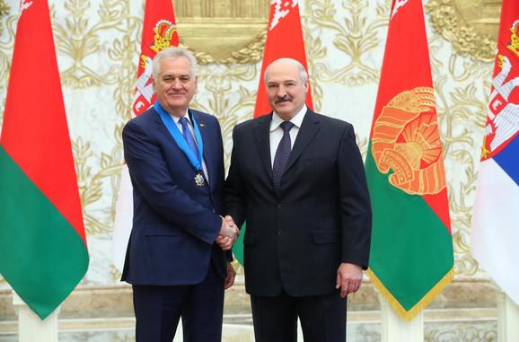 Tomislav Nikolić i Aleksandar Lukašenko