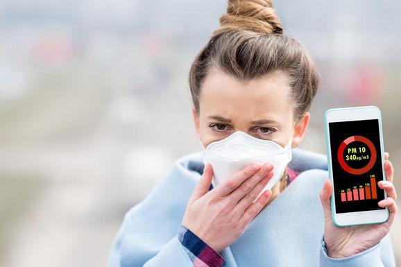 """""""NE DIŠITE UBRZANO I DUBOKO AKO STE NAPOLJU"""" Beograd je danas među najzagađenijim gradovima sveta, a evo u kojim smo još gradovima DISALI NA ŠKRGE"""