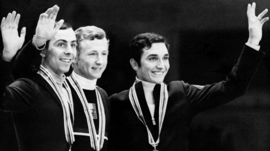 Wolfgang Schwarz (w środku) i Timothy Wood oraz Patrick Pera