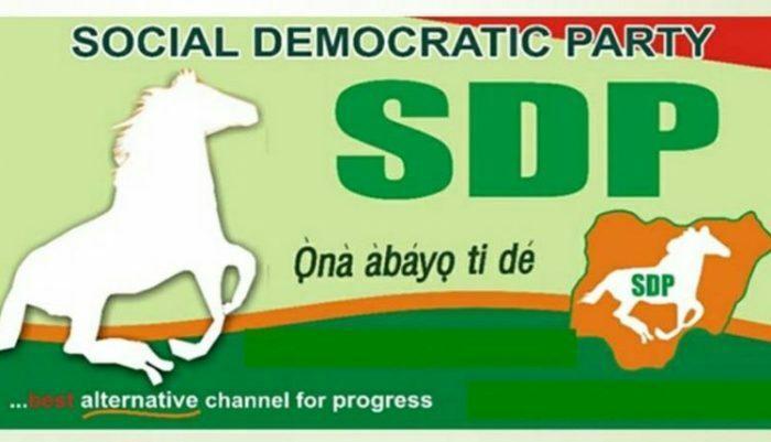 SDP - Social Democratic Party Banner