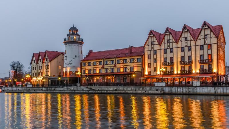 Nabrzeże Osady Rybackiej, Kaliningrad