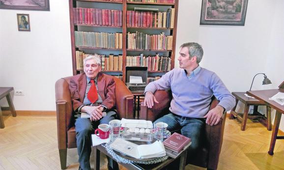Vladeta Jerotić i Aleksandar Gajšek