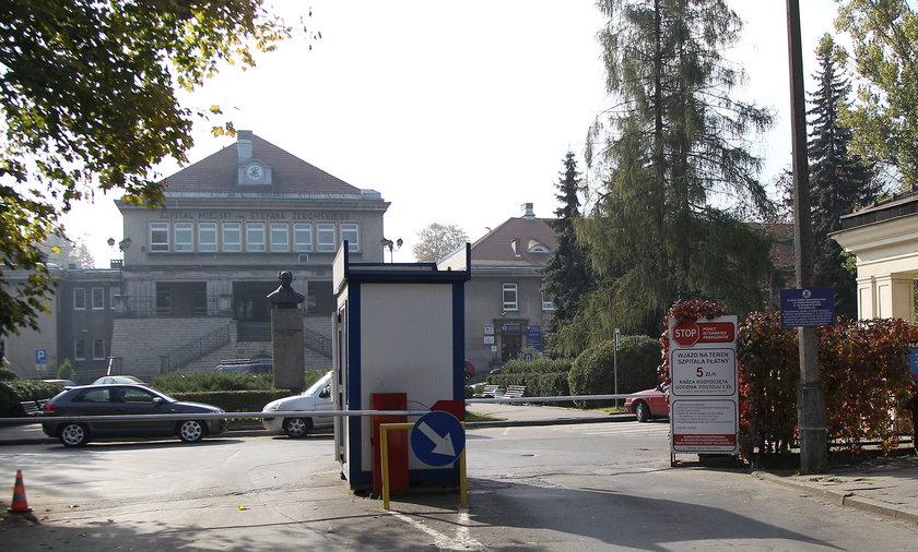 szpital Żeromskiego parking