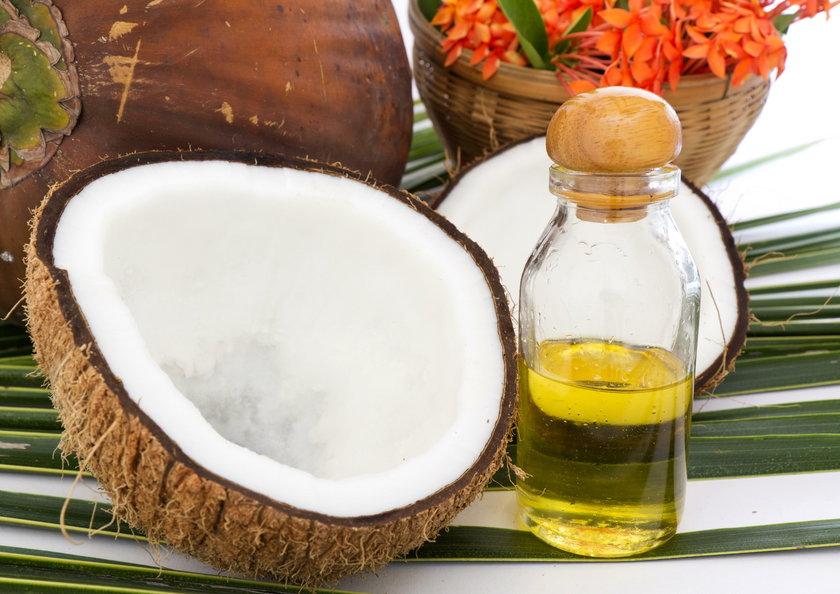Łupiny kokosów