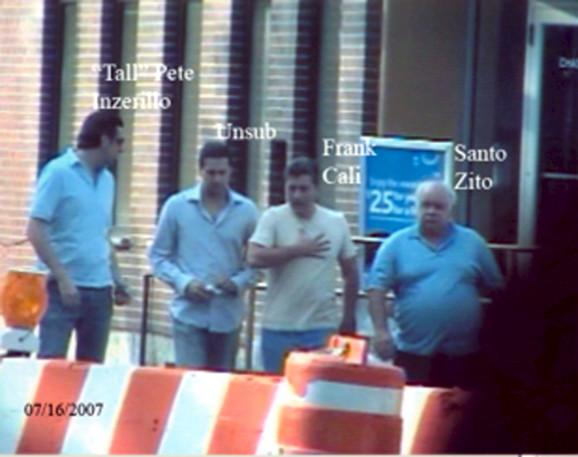 Mafijaški bosovi Frančesko Kali, Pete Inzerilo i Santo Zito