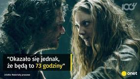 """Ostatni sezon """"Gry o tron"""" najkrótszy ze wszystkich"""