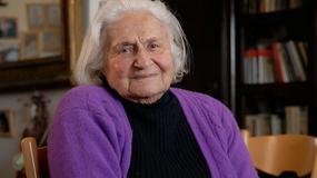 Tova Berlinski, urodzona w Oświęcimiu 102-letnia artystka: kolor do mnie wrócił