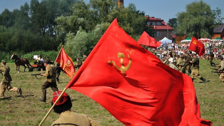 Bitwa Warszawska - rekonstrukcja radzieckiego natarcia