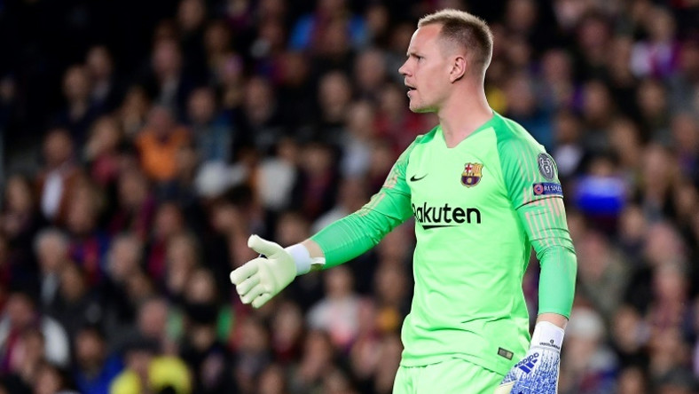 c1ae87156 Barcelona s German goalkeeper Marc-Andre Ter Stegen (pictured May 1