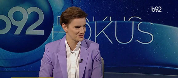 Zadovoljna sam kako je moj tim radio tokom korona krize: Ana Brnabić