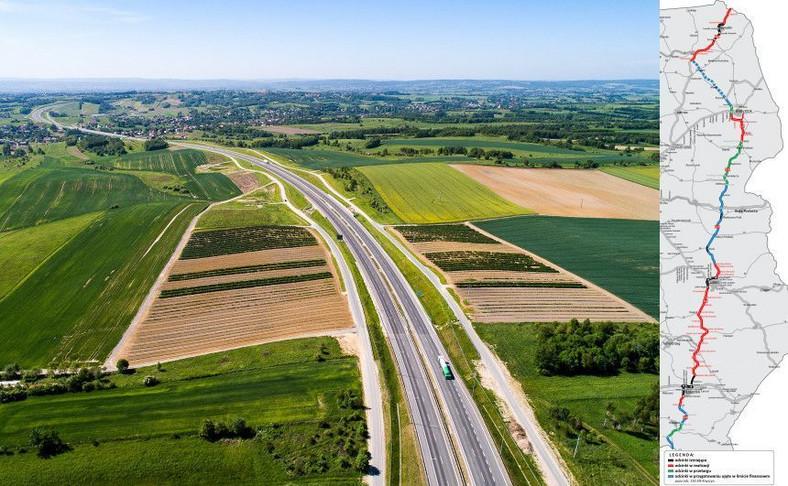 Via Carpatia będzie dłuższa o nowy odcinek drogi ekspresowej S19