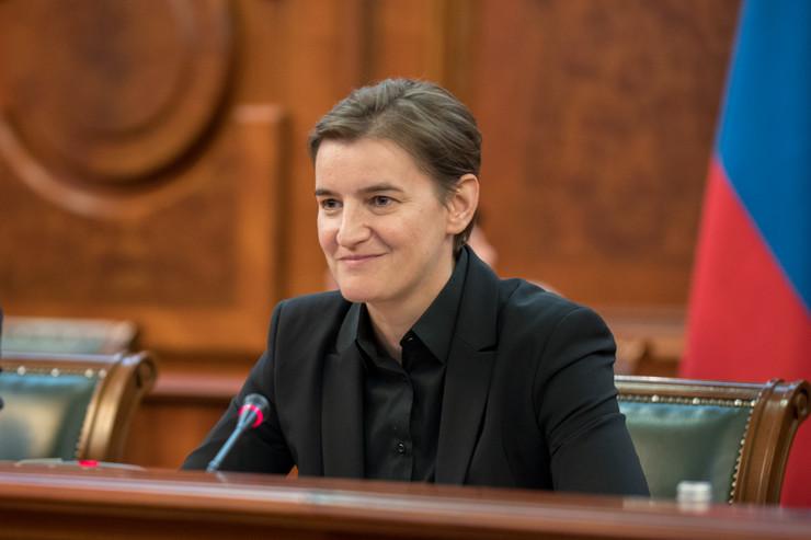 Ana Brnabić na sastanku sa Natalijom Komarovom