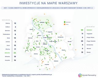 Olbrzymi popyt na mieszkania w Warszawie. Oferta deweloperów skurczyła się o 18 proc.