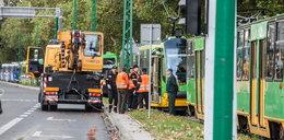Burza zerwała trakcję tramwajową