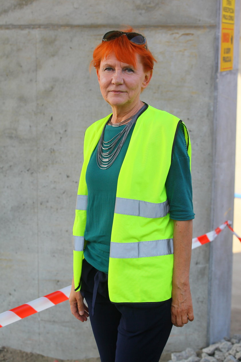 Małgorzata Gajewska, rzecznik Zarządu Miejskich Inwestycji Drogowych