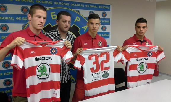 Pojačanja FK Borac