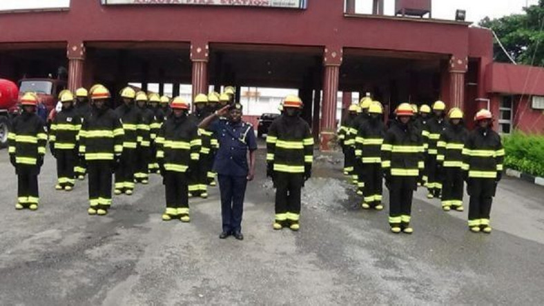 Men of the Federal Fire Service (FFS) (Daily Trust)