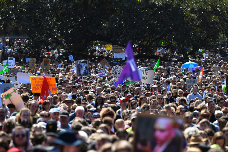 Klimatske promene protest Australija